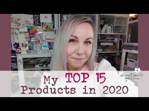 2020 Favourites – My TOP 15 Craft Art Products ~ ✂️ Maremi's Small Art
