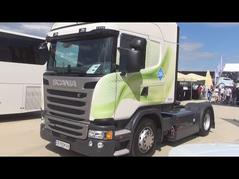 Scania G 340 LA4x2MNA Euro 6 CNG Tractor Truck (2016) Exterior and Interior in 3D