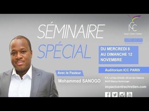 Pasteur Mohammed SANOGO - Vaincre les 4 formes d'attaques majeures du malin - Session 3