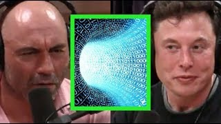 Joe Rogan & Elon Musk - Are We in a Simulated Reality?
