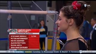 Peyton Hinterberger (Ohio State) - Uneven Bars (8.000) - Ohio State at UCLA 2018