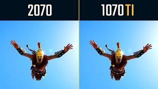 RTX 2070 vs. GTX 1070 Ti Test in 8 Games