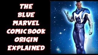 The Blue Marvel Is Black Superman In The 60's - Comic Book Origins