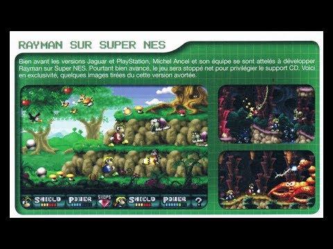 Un vistazo al prototipo de Rayman en SNES