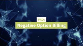 Negative Option Billing