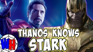 The REAL REASON Why Thanos Knows Tony Stark! | Webhead