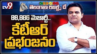 KTR wins by huge majority in Siricilla..