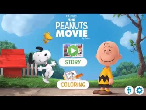 Peanuts The Movie Official Storybook!