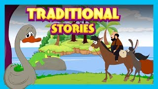 THE UGLY DUCKLING - TRADITIONAL STORIES FOR KIDS || KIDS STORY COMPILATION - STORYTELLING