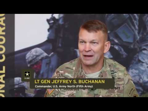 2017 Army All-American Bowl - U.S. Army North Commander Talks All-American Marching Band