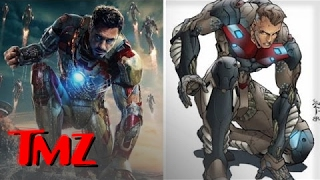 Iron Man Finally Has a Suit That's NOT Cool | TMZ