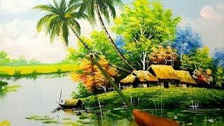 học vẽ tranh phong cảnh làng quê, Các bạn có nhu cầu học vẽ mời tham khảo K.học vẽ tranh link dưới