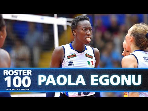 Evolution of Paola Egonu! | Best Female Opposites of the Decade | #ROSTER100