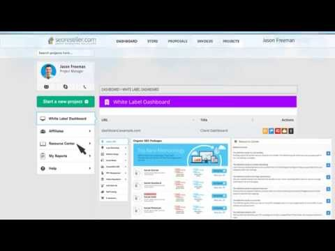 Powerful SEO Reseller Dashboard Your Clients Will Love!