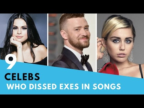 9 Celebs Who DISSED Their Exes In Songs!   Hollywire