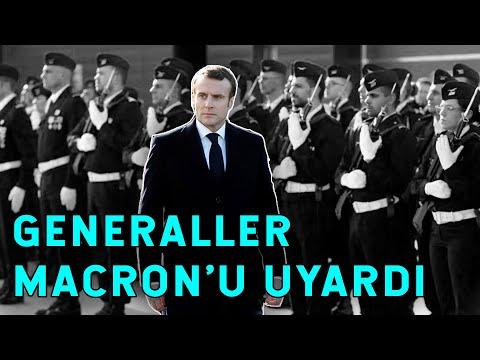 Macron Yolun Sonuna Geldi! Generaller Macron'u Uyardı