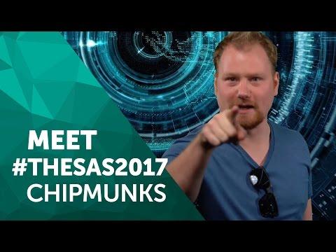 Meet #TheSAS2017 Chipmunks