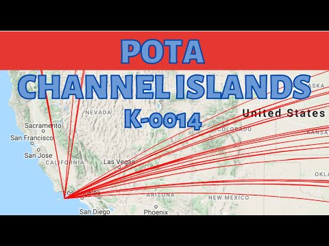 POTA QRP. Channel Islands National Park K-0014. In 4K