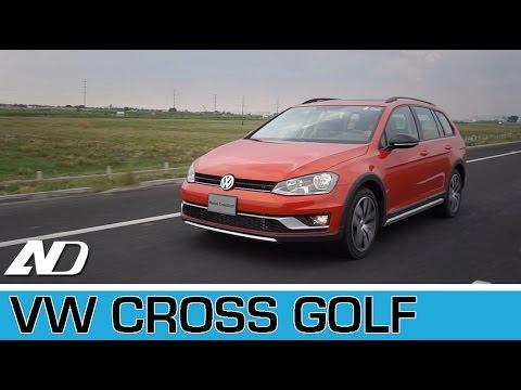 Volkswagen Cross Golf - Primer vistazo en AutoDinámico.