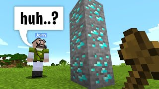 Trolling people with world edit in minecraft...
