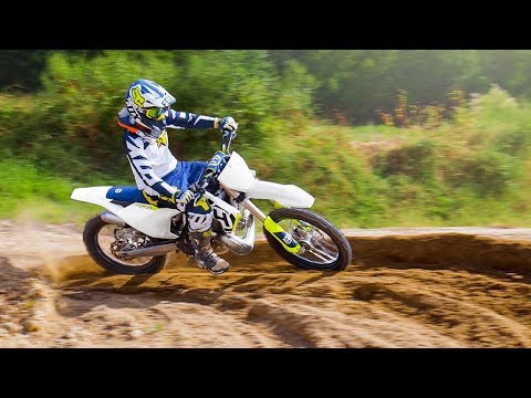 Husqvarna 250 2-Stroke Motocross Riding