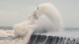 Storm Eleanor batters UK and Ireland with 100mph winds