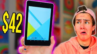 Testing The Cheapest Tablet on Amazon