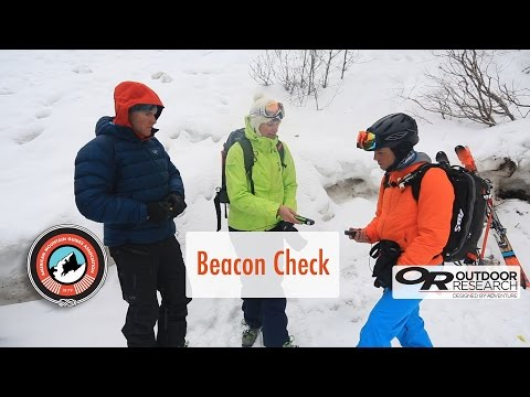 Avalanche Beacon Check
