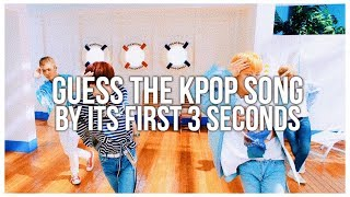 [KPOP GAME] GUESS THE KPOP SONG BY ITS FIRST 3 SECONDS