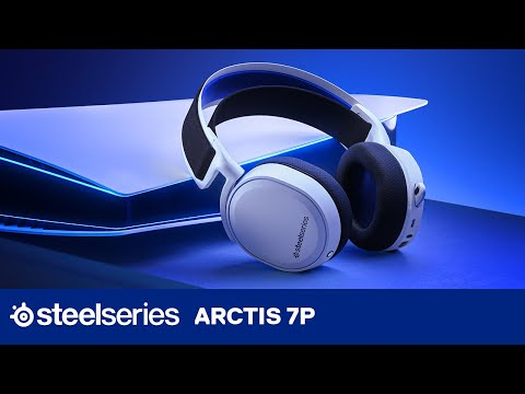 Arctis 7P Headset for  Sony PlayStation 4 and Next-Gen PlayStation 5   SteelSeries