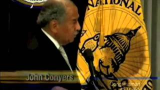 John Conyers on Reading the Healthcare Bill