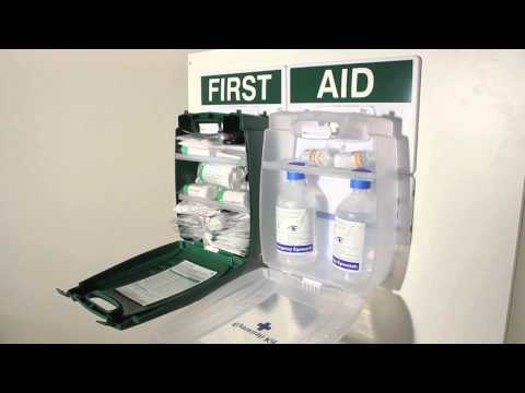 Safety First Aid Workplace Eyewash & First Aid Point British Standard Evolution Case - Med.