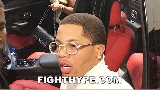 GERVONTA DAVIS LEAVES ARENA LIKE A BOSS; ICED OUT FINAL WORDS TO FANS AFTER KNOCKING OUT NUNEZ