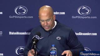 Penn State-Wisconsin_James Franklin (opening statement)