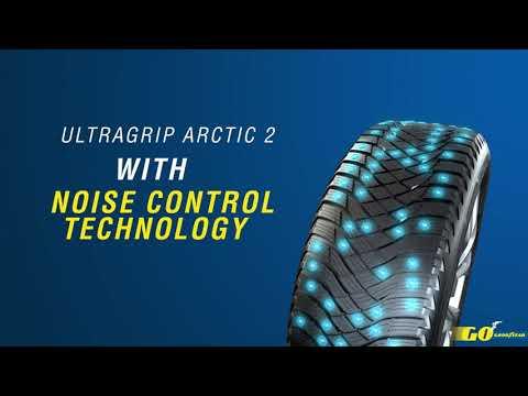 UltraGrip Arctic 2 - Noise Control Technology