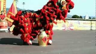 Golden Gate Fields KTSF26 1st annual lion dance competition rising phoenix lion dance association