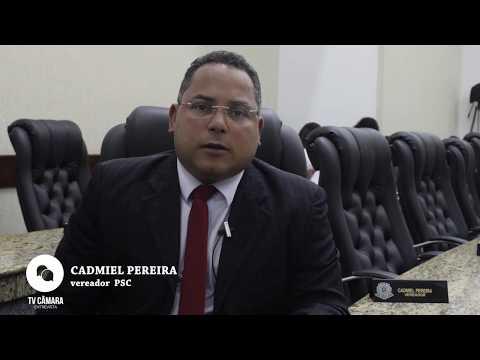 Entrevista com o vereador Cadmiel Pereira PSC