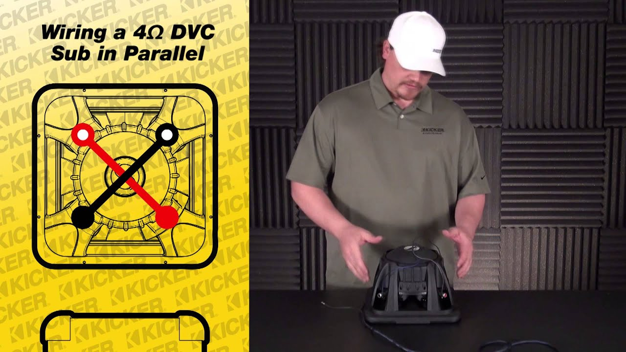 subwoofer wiring one 4 ohm dual voice coil sub in. Black Bedroom Furniture Sets. Home Design Ideas