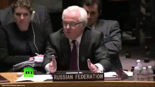 Чуркин: Уймите членов Совета Безопасности, они меня провоцируют