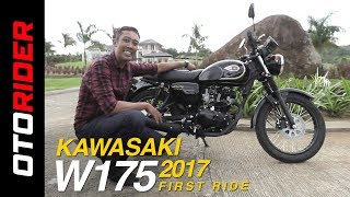 Kawasaki W175 First Ride Review Indonesia | OtoRider