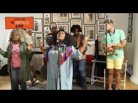 Tank and the Bangas at the Global Citizen Office Live