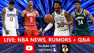 NBA News & Rumors: Trades, Giannis MVP, Celtics & Marcus Smart, NBA Playoffs, Rockets Coach | Q&A