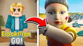 NOVA SKIN do ROUND 6 (SQUID GAME) no BED WARS do BLOCKMAN GO !!