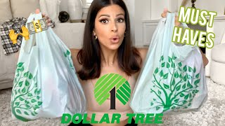 MUST HAVES FROM THE DOLLAR TREE | $1 makeup, home goods, and DIY'S