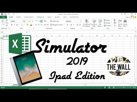 Excel Simulator 2k19 [Progetti 2019]   iPad Edition