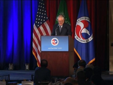 Tillerson: US-Saudi to Deepen Economic Ties