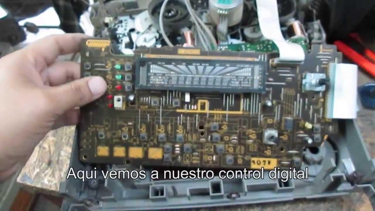 Reparaci 243 N De Equipo Pioneer No Sube Ni Baja El Volumen