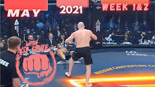 Boxing & MMA Knockouts | May 2021 Week 1&2