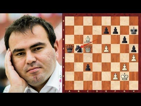 World Chess Championship Candidates (2018): Shakhriyar Mamedyarov vs Alexander Grischuk Berlin rd 13