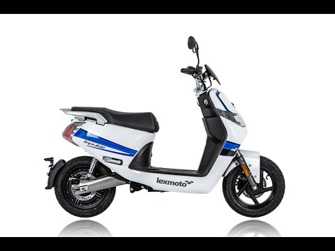 Lexmoto Impulse 1.5kw 28mph Electric Moped Ride-Review inc. De-restriction : Green-Mopeds.com